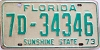 1973 Florida # 7d34346, Orange County