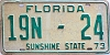 1973 Florida Rental Trailer # 19n24, Brevard County