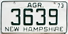 1973 New Hampshire Agriculture # 3639