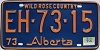 1974 Alberta Wild Rose Country # EH-73-15