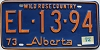 1974 Alberta Wild Rose Country # EL-13-94