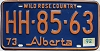 1974 Alberta Wild Rose Country # HH-85-63