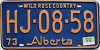 1974 Alberta Wild Rose Country # HJ-08-58