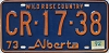 1974 Alberta Wild Rose Country # CR-17-38