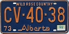 1974 Alberta Wild Rose Country # CV-40-38