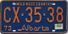 1974 Alberta Wild Rose Country # CX-35-38