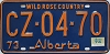 1974 Alberta Wild Rose Country # CZ-04-70