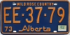 1974 Alberta Wild Rose Country # EE-37-79