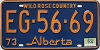 1974 Alberta Wild Rose Country # EG-56-69