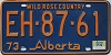 1974 Alberta Wild Rose Country # EH-87-61