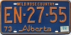 1974 Alberta Wild Rose Country # EN-27-55
