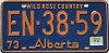 1974 Alberta Wild Rose Country # EN-38-59