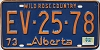 1974 Alberta Wild Rose Country # EV-25-78