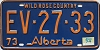 1974 Alberta Wild Rose Country # EV-27-33