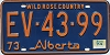 1974 Alberta Wild Rose Country # EV-43-99