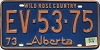 1974 Alberta Wild Rose Country # EV-53-75