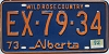 1974 Alberta Wild Rose Country # EX-79-34