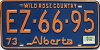 1974 Alberta Wild Rose Country # EZ-66-95