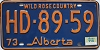 1974 Alberta Wild Rose Country # HD-89-59