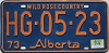 1974 Alberta Wild Rose Country # HG-05-23