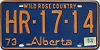 1974 Alberta Wild Rose Country # HR-17-14
