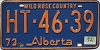 1974 Alberta Wild Rose Country # HT-46-39