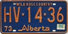 1974 Alberta Wild Rose Country # HV-14-36