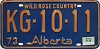 1974 Alberta Wild Rose Country # KG-10-11
