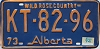 1974 Alberta Wild Rose Country # KT-82-96