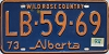 1974 Alberta Wild Rose Country # LB-59-69