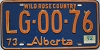 1974 Alberta Wild Rose Country # LG-00-76