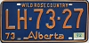 1974 Alberta Wild Rose Country # LH-73-27
