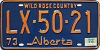 1974 Alberta Wild Rose Country # LX-50-21