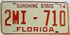 1974 Florida Dealer # 2mi710, Duval County