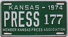 1974 Kansas Press Car # 177