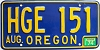 1974 Oregon # HGE-151