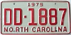 1975 North Carolina # DD-1887