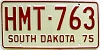 1975 South Dakota Highway Maintenance Trailer # 763