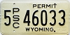 1975 Wyoming PSC Permit #46033, Albany County