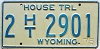 1975 Wyoming House Trailer #2901, Laramie County