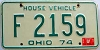 1975 Ohio House Vehicle # F 2159