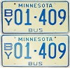1976 Minnesota School Bus pair # 01-409