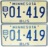 1976 Minnesota School Bus pair # 01-419