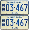 1976 Minnesota School Bus pair # 03-467