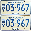 1976 Minnesota School Bus pair # 03-967