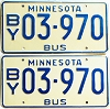 1976 Minnesota School Bus pair # 03-970
