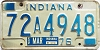 1976 Indiana # 72A4948