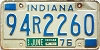 1976 Indiana # 94R2260