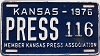 1976 Kansas Press Car # 116