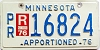 1976 Minnesota Apportioned # 16824